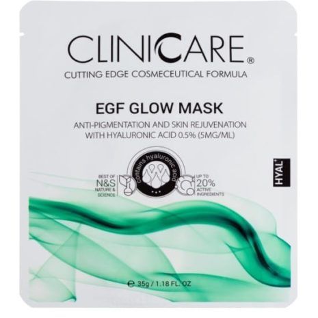 EGF Glow- Anti-Pigmentation & Skin Rejuvenating Tissue Mask with Hyaluronic Acid