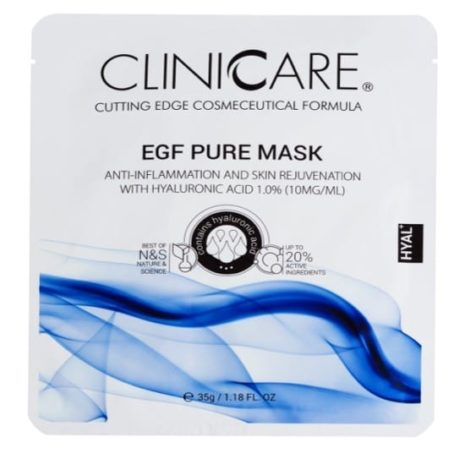 EGF Pure- Anti-Inflammation & Skin Rejuvenation Tissue Mask with Hyaluronic Acid